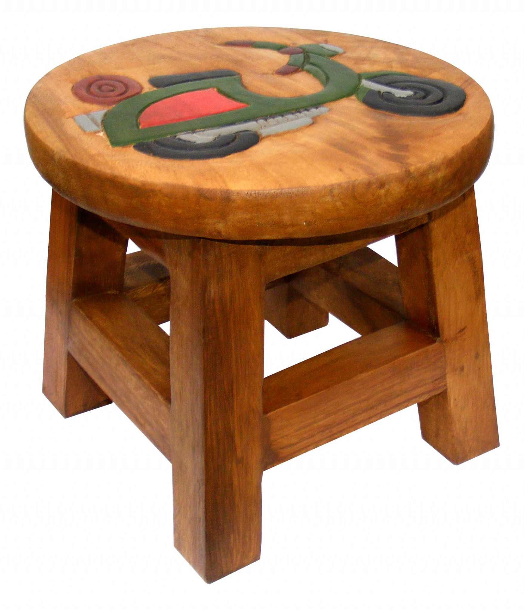 Children S Wooden Step Or Stool Scooter Design